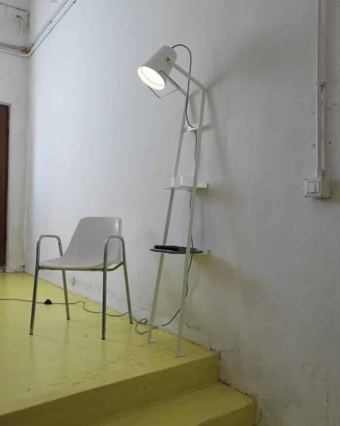 Stehlampe Alfred von Karman